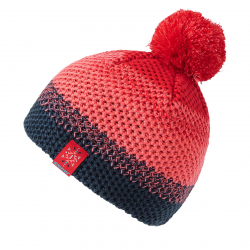 Juniorská zimná čiapka ZIENER ISHI JUNIOR - fiery red