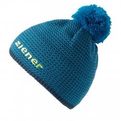 Juniorská zimná čiapka ZIENER IMIT JUNIOR - blue sea