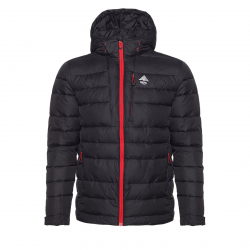 Pánska bunda BERG OUTDOOR-ELLMAU BLACK