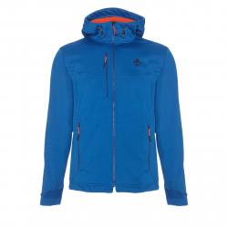 Pánska turistická softshellová bunda BERG OUTDOOR-URRA SNORKEL BLUE