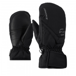 Juniorské lyžiarske rukavice ZIENER LORIAN MITTEN - black