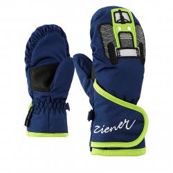 Detské lyžiarske rukavice ZIENER LAFAUNA AS(R) - estate blue