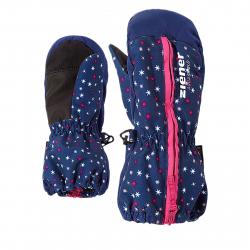 Detské lyžiarske rukavice ZIENER LANGELO AS(R) - snowflake print