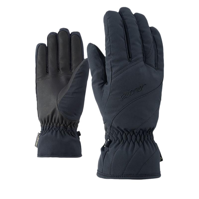 Dámske lyžiarske rukavice ZIENER KIMAL GTX(R) - black  9d9270794e