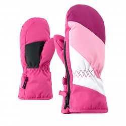 Detské lyžiarske rukavice ZIENER LESPORTICO AS(R) - pop pink