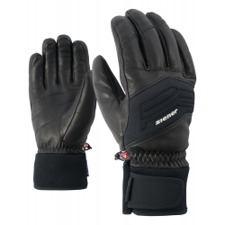 Pánske lyžiarske rukavice ZIENER GOWON AS(R) PR - black