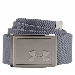 Opasok UNDER ARMOUR-Mens Webbing 2.0 Belt-GRY