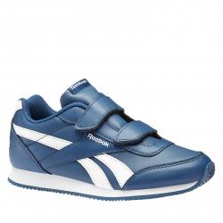 e29b72ec0e19 Juniorská rekreačná obuv REEBOK-REEBOK ROYAL CLJOG BUNKER BLUE WHITE
