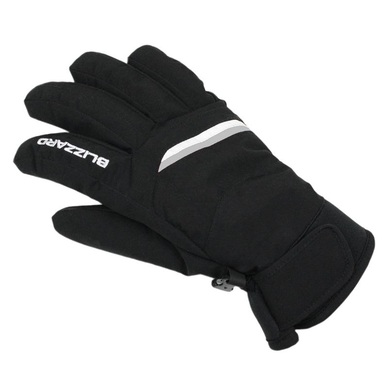 ca286cbba Dámske lyžiarske rukavice BLIZZARD-Viva Plose ski gloves,  black/white/silver -
