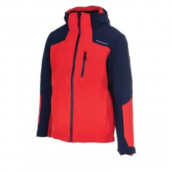 Pánska lyžiarska bunda BLIZZARD Mens Jacket Bormio, blackblue/redorange