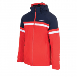 Pánska lyžiarska bunda BLIZZARD Mens Jacket Arabba, blackblue/redorange/white