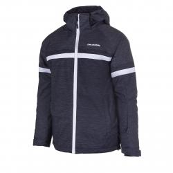 Pánska lyžiarska bunda BLIZZARD-Mens Jacket Arabba, black melange/grey melange/white