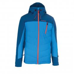 Pánska lyžiarska bunda BLIZZARD-Mens Jacket Gerlos, petroleum/blue/orange