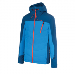 Pánska lyžiarska bunda BLIZZARD Mens Jacket Gerlos, petroleum/blue/orange
