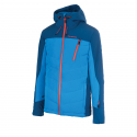 Pánska lyžiarska bunda BLIZZARD-Mens Jacket Gerlos, petroleum/blue/orange -