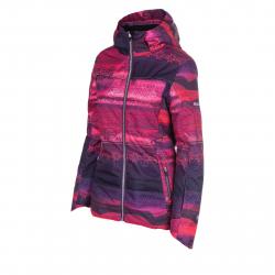 Dámska lyžiarska bunda BLIZZARD Viva Jacket Livigno, ruby