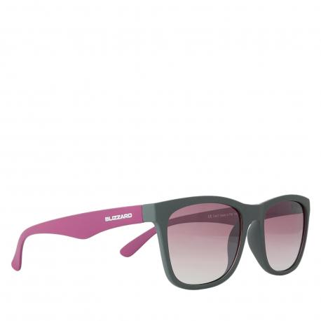 Sportovní brýle BLIZZARD-Sun glasses PC4064-004 light grey matt, 56-15-133