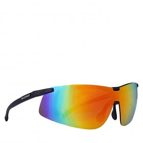 Cyklistické brýle BLIZZARD-sun glasses PC439-112 rubber black, 143-16-126