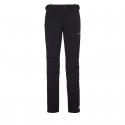 Pánske turistické softshellové nohavice BERG OUTDOOR-CANILLO BLACK M -