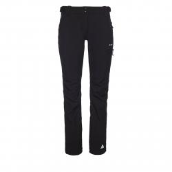 Dámske turistické softshellové nohavice BERG OUTDOOR-CANILLO BLACK W