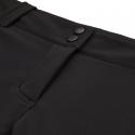 Dámske turistické softshellové nohavice BERG OUTDOOR-CANILLO BLACK/CORAL -