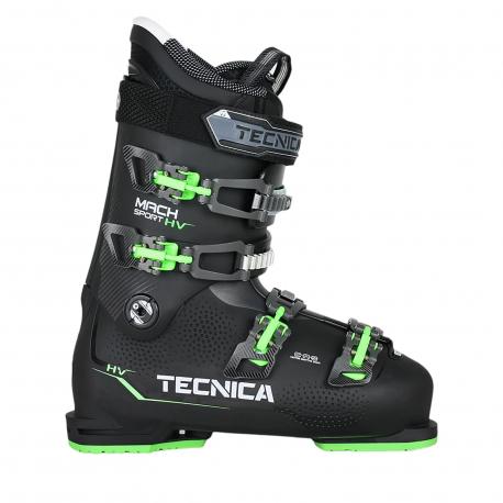 Lyžiarky na zjazdovku - on piste TECNICA-Mach Sport 90 HV SMU CZ, black/green