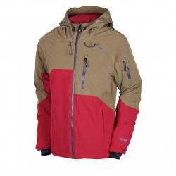 Pánska lyžiarska bunda FUNDANGO-High point-blood heather