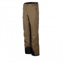 Pánske lyžiarske nohavice FUNDANGO-Rockwood-khaky heather