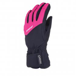 Juniorské lyžiarske rukavice ZIENER LAXI GTX(R) - pop pink