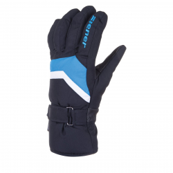 Pánske lyžiarske rukavice ZIENER IMP 18 - 1410 - black.persian blue