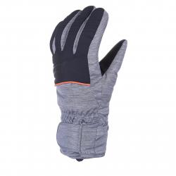 Pánske lyžiarske rukavice ZIENER IMP 18 - 1171 AS(R) - dark melange