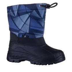 Chlapčenská zimná obuv vysoká JUNIOR LEAGUE-Kisi blue