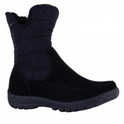 00ad8922a525 Dámska zimná obuv vysoká SOFT DREAMS-Avata black