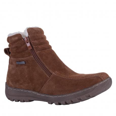 Dámska zimná obuv stredná SOFT DREAMS-Avara brown