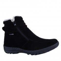 Dámska zimná obuv stredná SOFT DREAMS-Avara black add7443569b