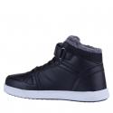 Juniorská zimná obuv stredná JUNIOR LEAGUE-Lafo black -