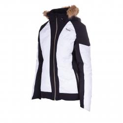 Dámska lyžiarska bunda BLIZZARD Viva Jacket Cortina, black/white/copper