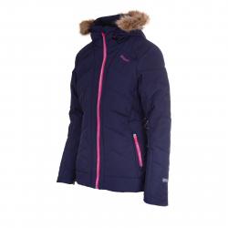 Dámska lyžiarska bunda BLIZZARD Viva Jacket Cortina, dark violet/pink