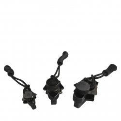 Súprava na opravu zipsov MUNKEES FixnZip Black 3-pack