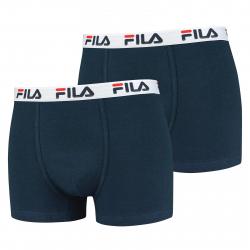 Pánske boxerky FILA-FU5016 BOXERS 2-PACK 321-Blue dark