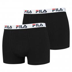 Pánske boxerky FILA-FU5016 BOXERS 2-PACK 200-Black