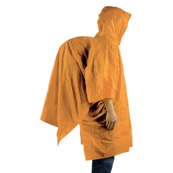 Pršiplášť ACE CAMP-Lightweight Vinyl Poncho Orange
