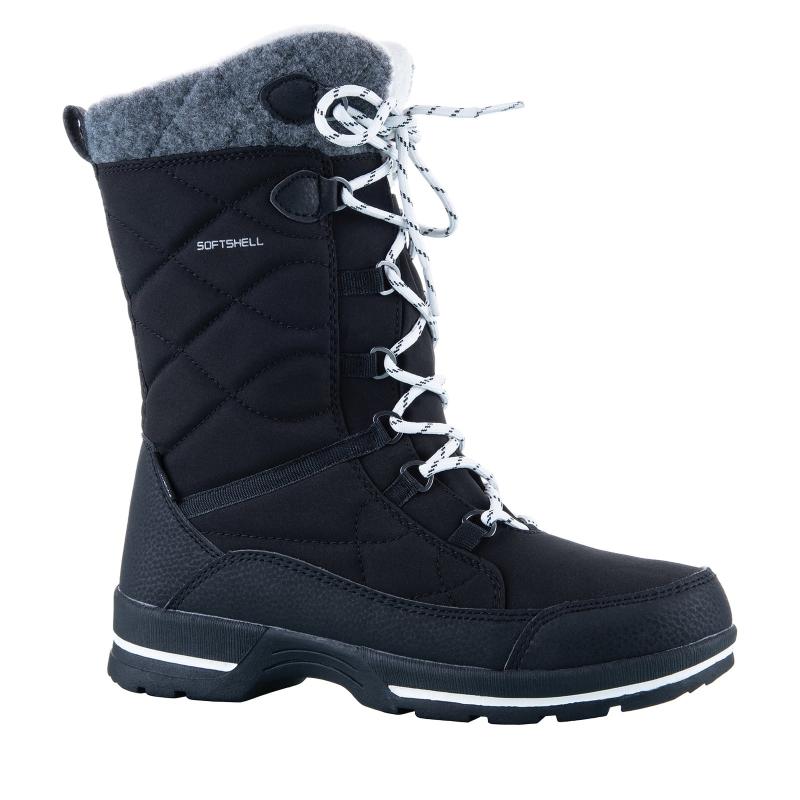 ffd4554b4255 Dámska zimná obuv vysoká WESTPORT-Aneta black -