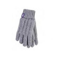Rukavice HEAT HOLDERS-Dámske rukavice bledo šedá