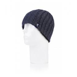 Pánská zimní čepice HEAT HOLDERS-Pánská čepice modrá