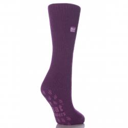 Dámske ponožky HEAT HOLDERS-Dámske ponožky protišmykové fialová