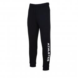Pánske teplákové nohavice ANTA-Knit Track Pants-q418-MEN-Black2
