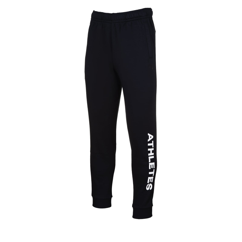 Pánske teplákové nohavice ANTA-Knit Track Pants-q418-MEN-Black2 -