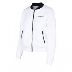Dámska tréningová mikina s celým zipsom ANTA-Knit Track Top-q418-WOMEN-White