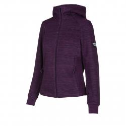 Dámska tréningová mikina s kapucňou ANTA-Knit Track Top-q418-WOMEN-Purple2